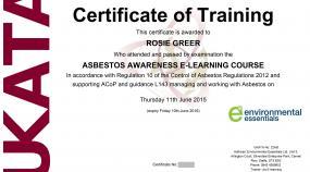 related courses ukata asbestos refresher